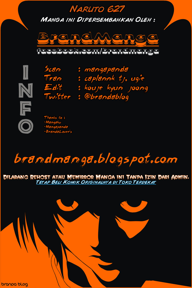 Naruto 627 - Info @brandablog