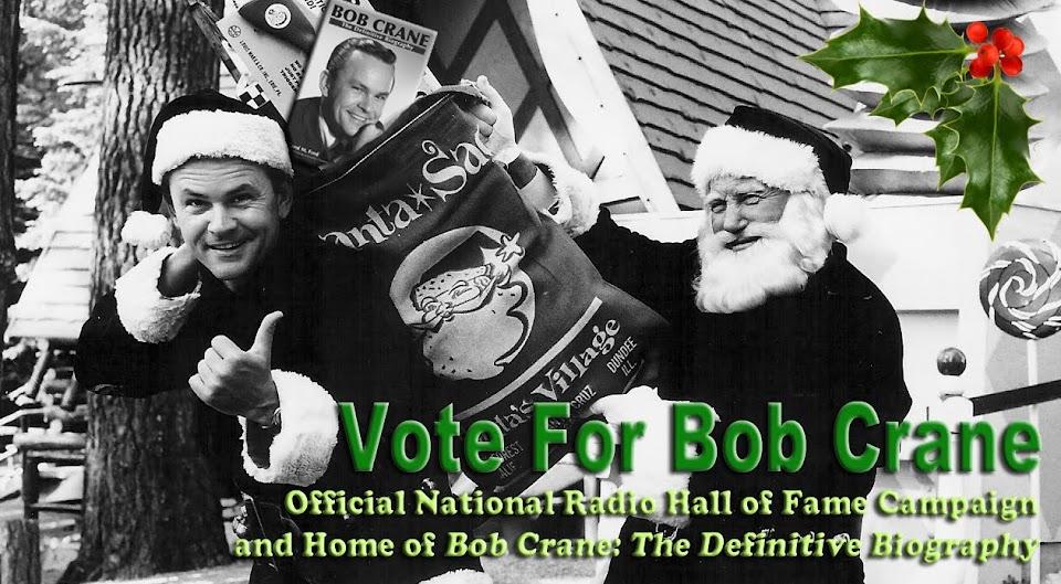 Vote For Bob Crane