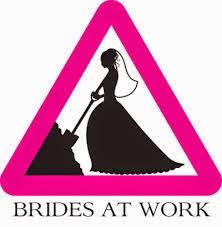 sposa a lavoro