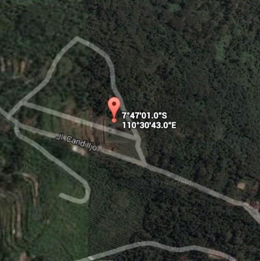 Koordinat Lokasi Candi Ijo_siparjo.com