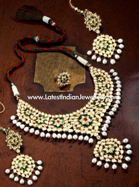 Kundan Jadau Bridal Gold Jewellery