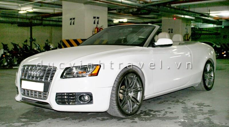 Cho thuê xe cưới Audi S5 mui trần