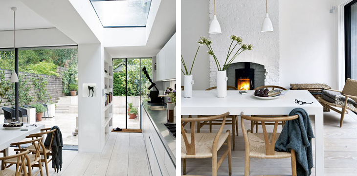 This Four Storey Victorian Terrace In East London Is Clearly Inspired By The Great Scandinavian Interior Design Traditions And It Done So Well Here