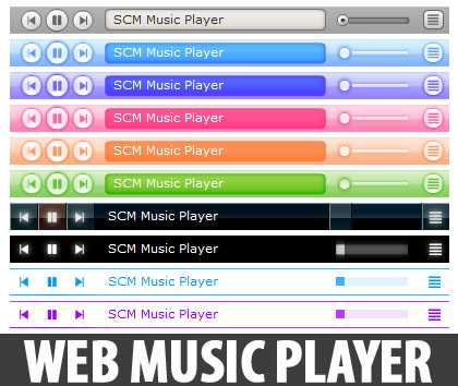 scm music player for blogspot