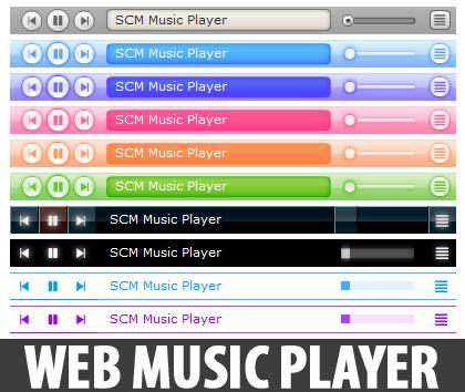 scm music player for blogspot