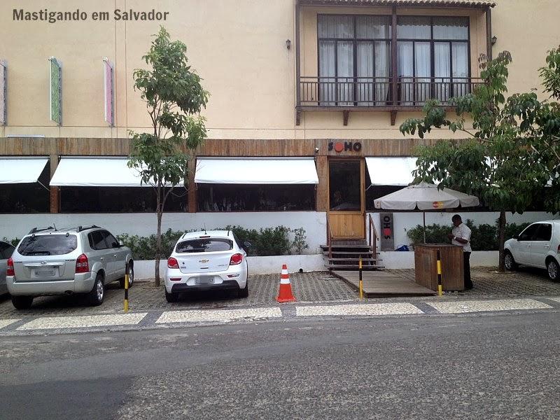 Soho Restaurante: Fachada da unidade do Shopping Paseo