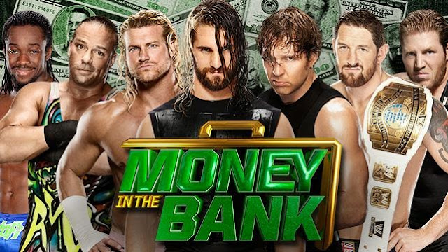 WWE Money in the Bank 2015 Match|Timing|Theme Song|Ten Sports HD