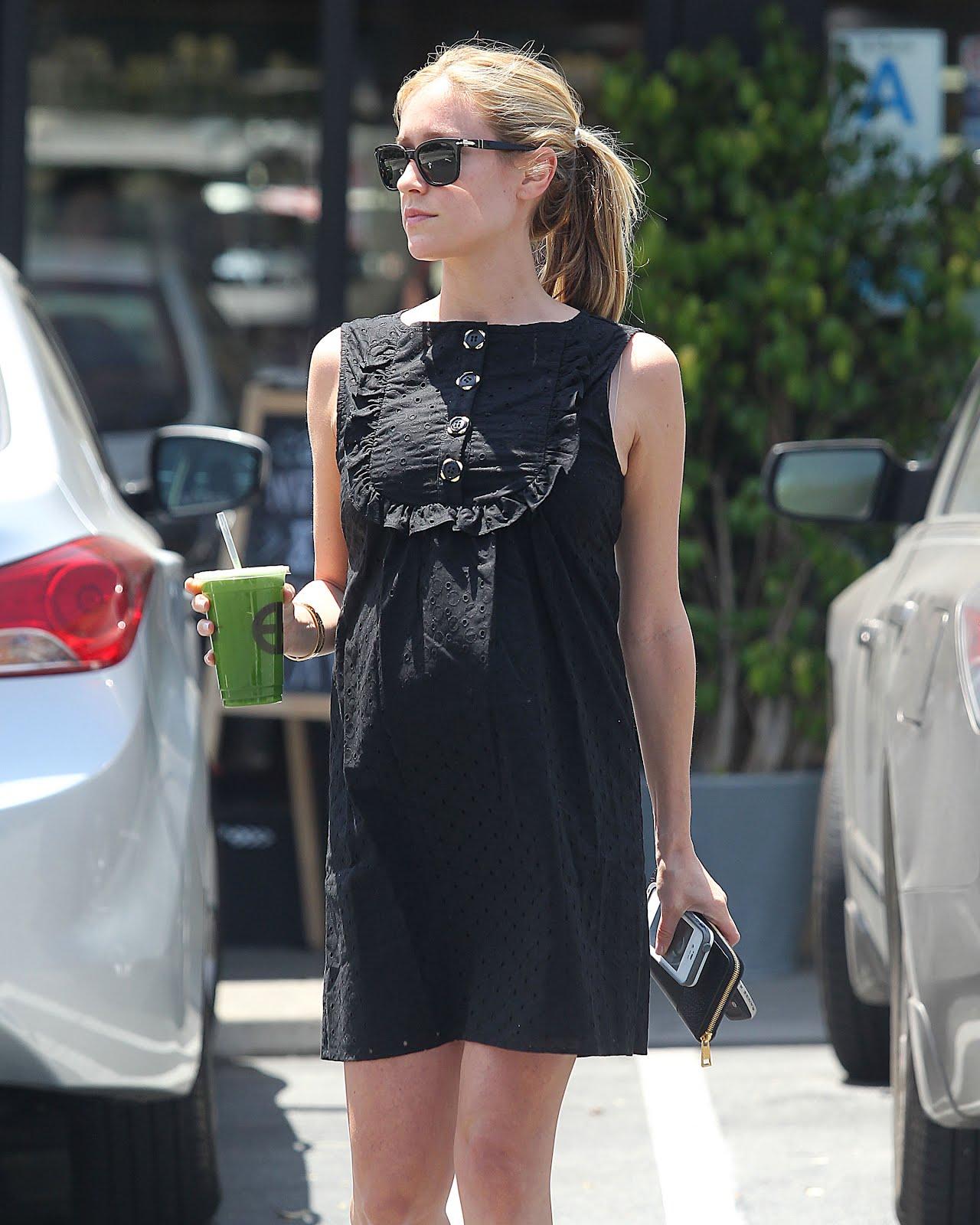 Kristin Cavallari Baby Shower Dress