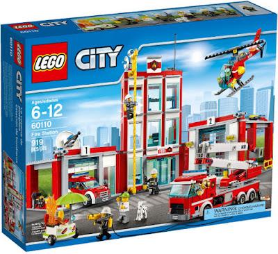 TOYS : JUGUETES - LEGO City  60110 Estación de Bomberos | Fire Station   Producto Oficial 2016 | Piezas: 919 | Edad: 6-12 años  Comprar en Amazon España & buy Amazon USA
