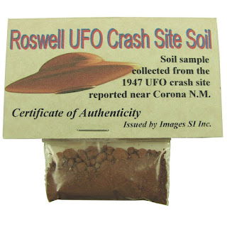 weird stuff on amazon - roswell soil sample