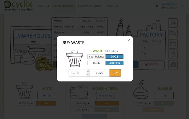 موقع recyclix اللإستثمار يورو هدية d.png