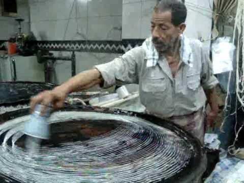 كنافة دسوق فى رمضان