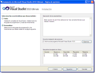 visual studio 2010 screen