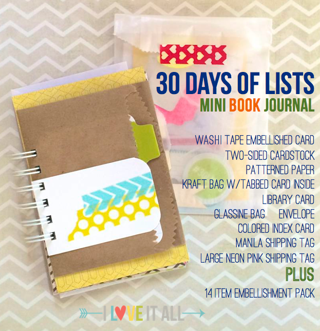 30 Days of Lists Journal | iloveitallwithmonikawright.com