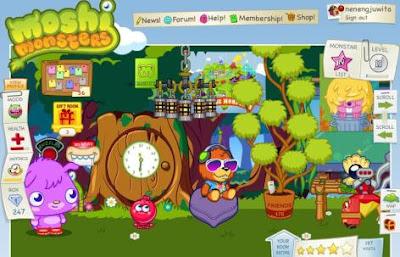 Cool Room Moshi monsters 3