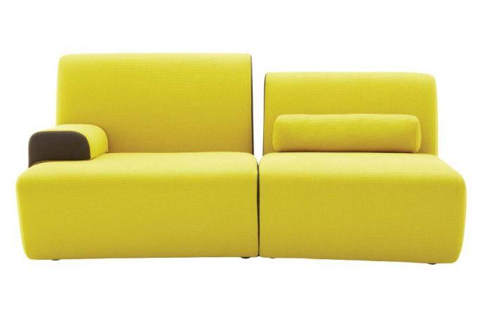 Designer Philippe Nigro colori e incastri di mobili...