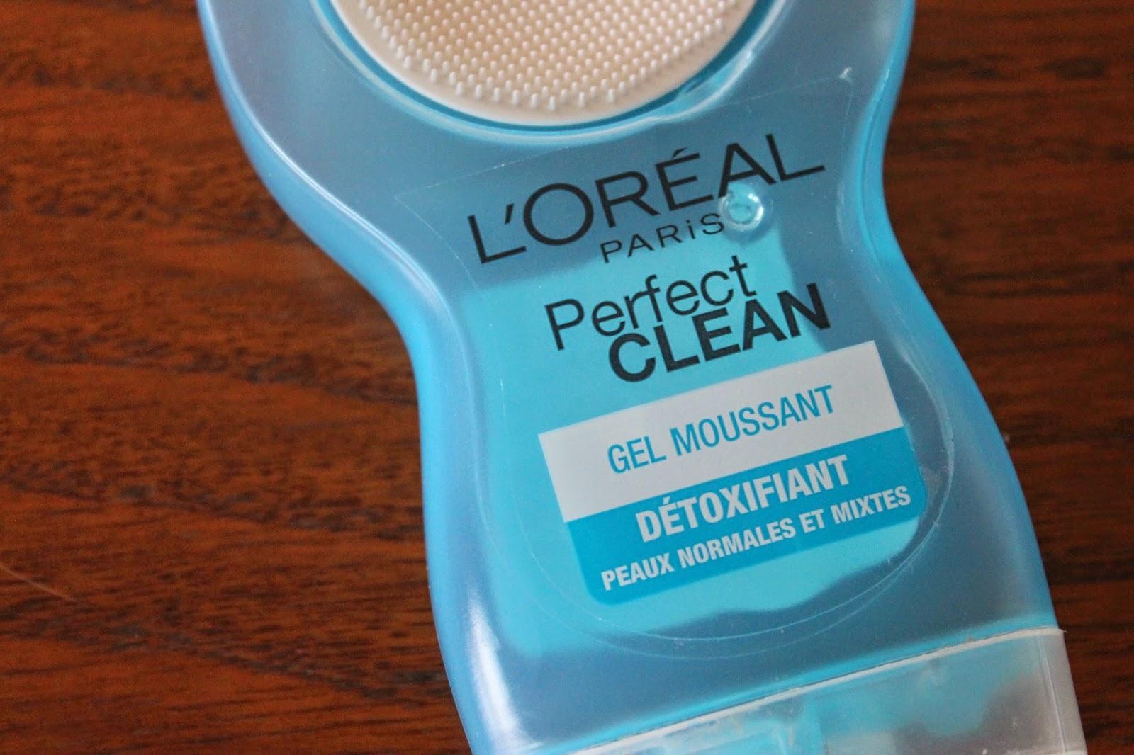 papillonsdonyx blog beauté suisse produits terminés perfect clean l'oréal