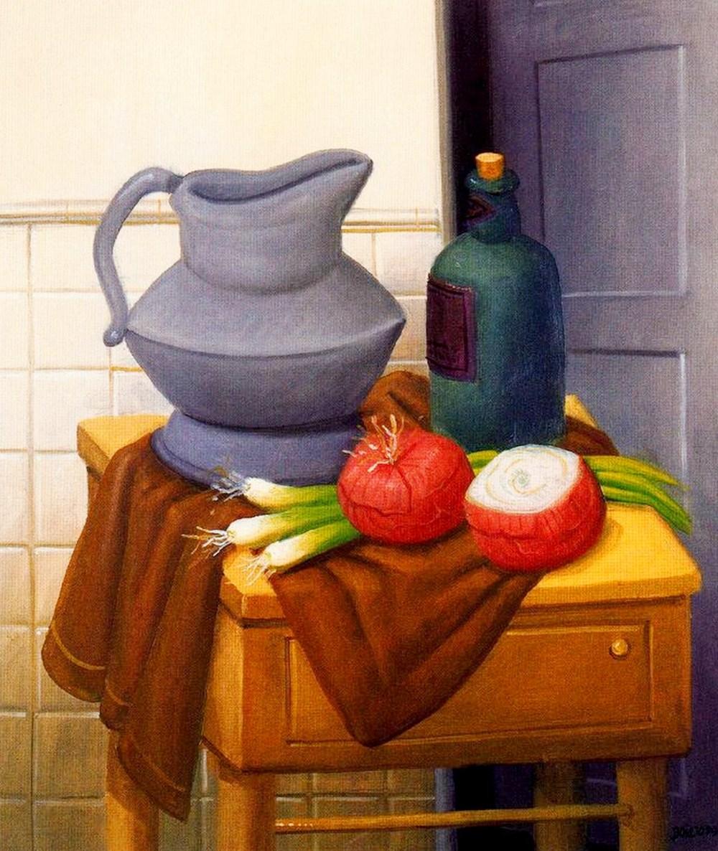 Im genes arte pinturas bodegones de artistas famosos for El jardin de botero