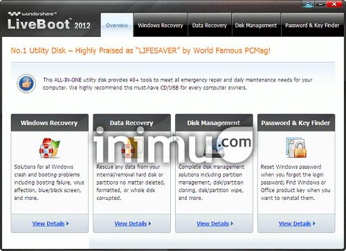 wondershare-liveboot-main-window