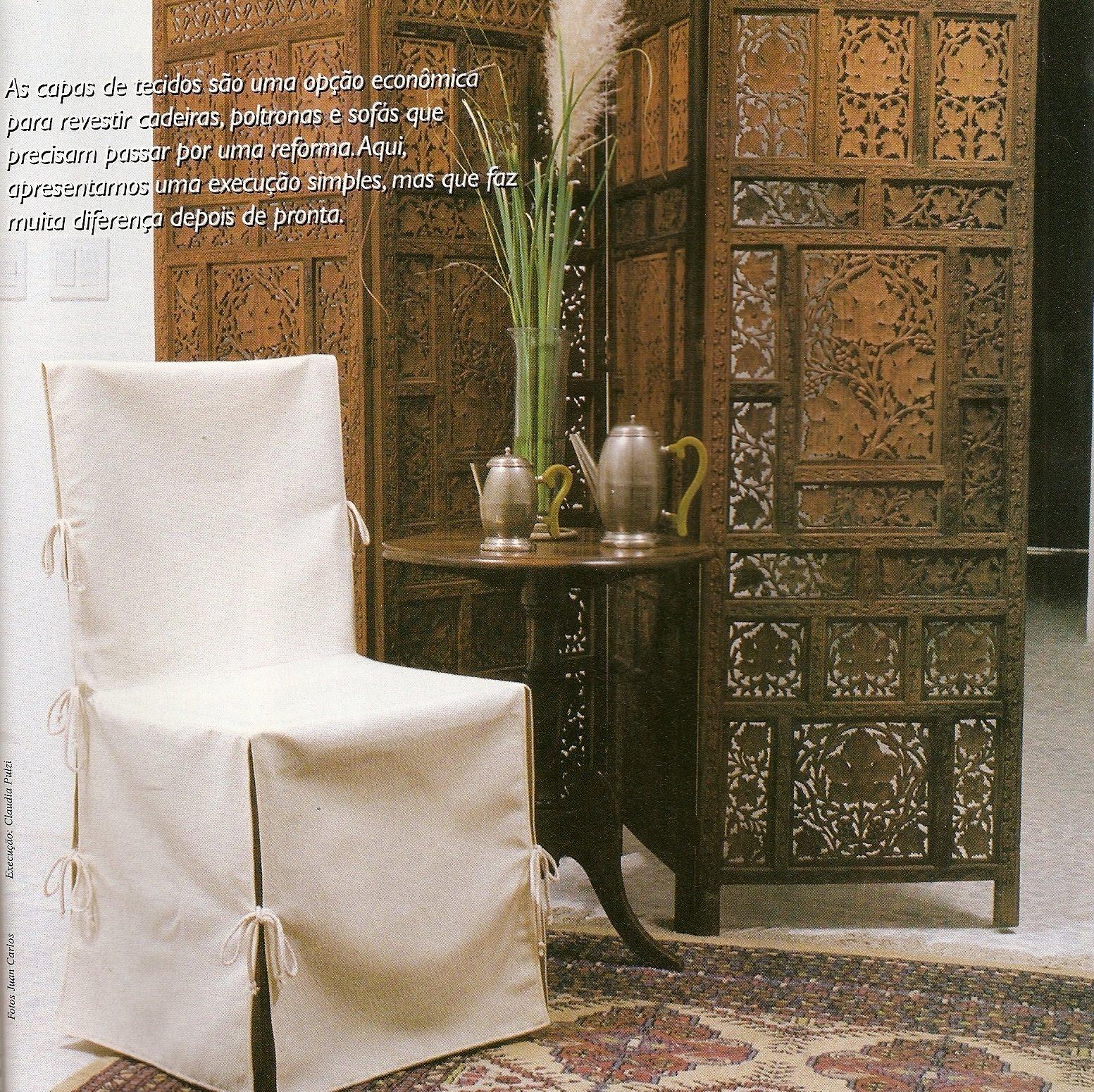 Como fazer você mesmo: Como fazer capas de tecido para suas cadeiras #91663A 1553x1550