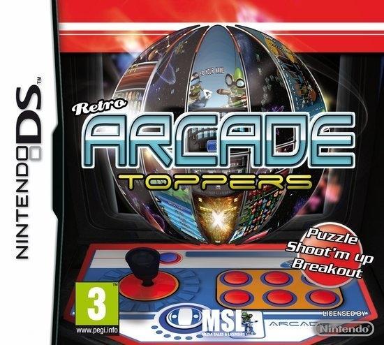 Retro Arcade Toppers (Ingles) (Nintendo DS)