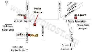 info rumah sewa harian di yogyakarta