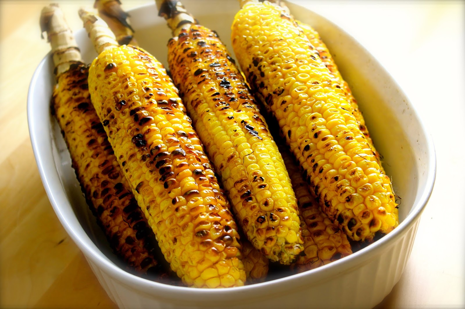 Grilled corn on the cob | Ingredients for 6 portions