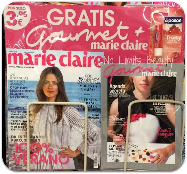 Regalos revistas junio 2015: Marie Claire