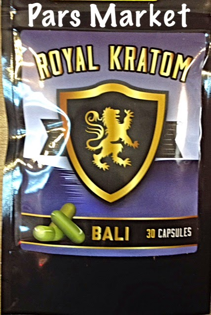 Royal Kratom Bali 30 Capsules at Pars Market Headshop in Columbia Maryland 21045