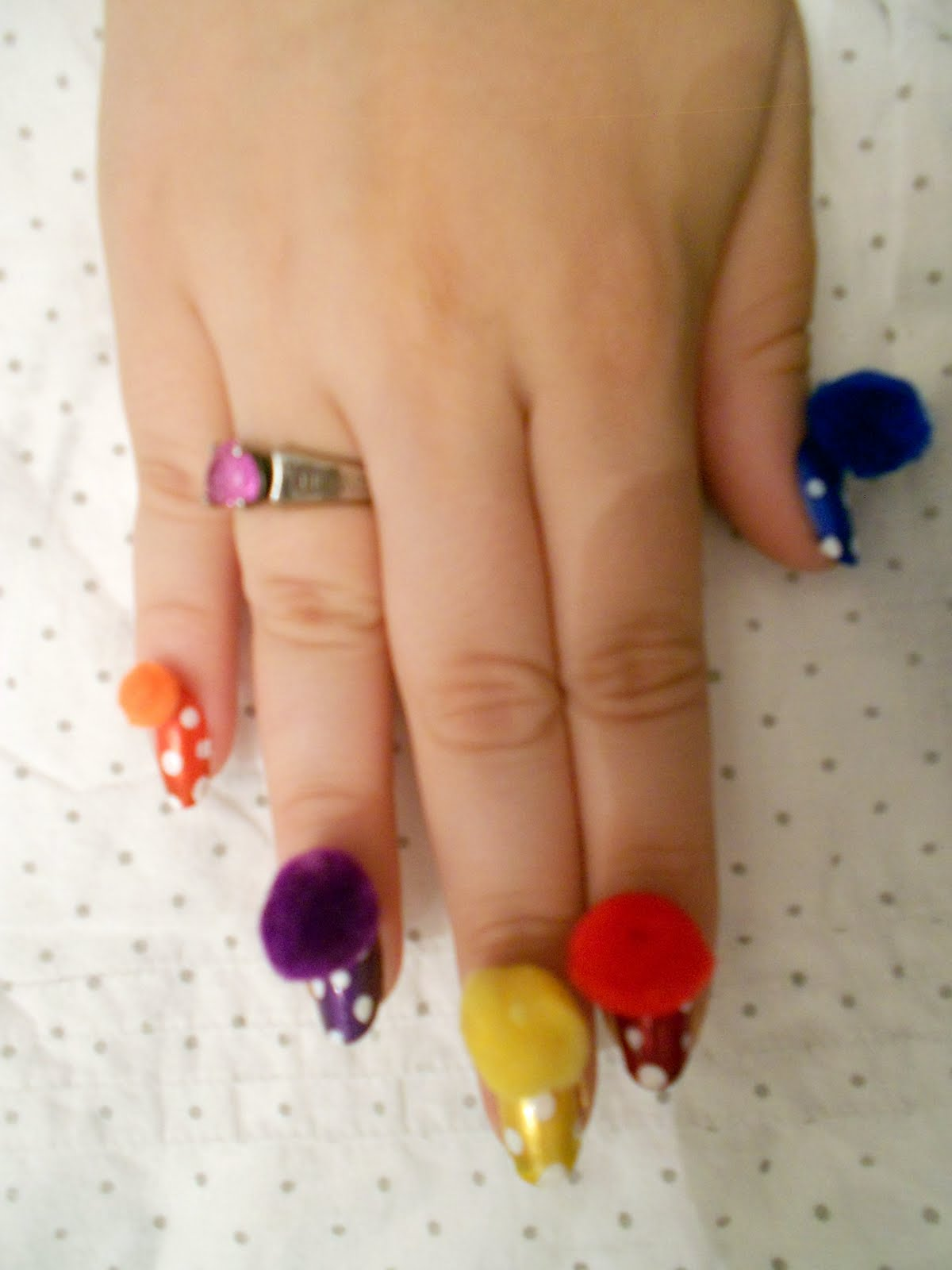 The Nail Artista Extraordinaire Circus Themed Nail Art