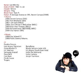 Profil Lengkap Lee Min Ho