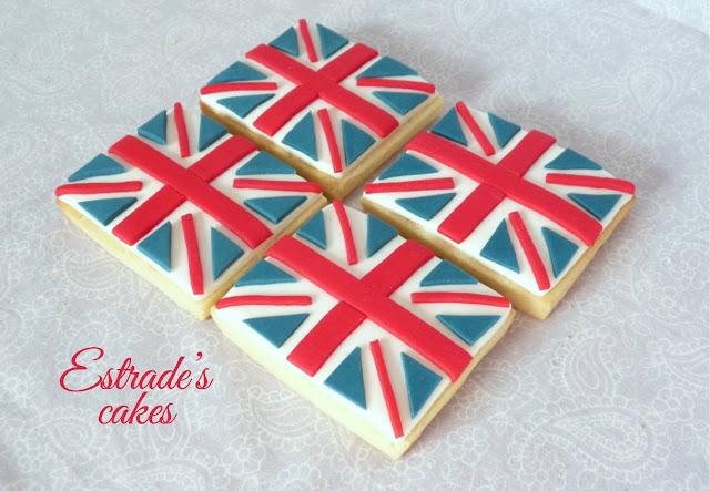 galletas de bandera de Gran Bretaña 4