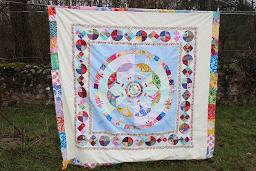 Dancing Dollies Quilt Top