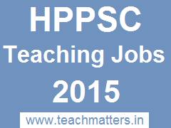 image : HPPSC Teaching Jobs 2015 @ TeachMatters