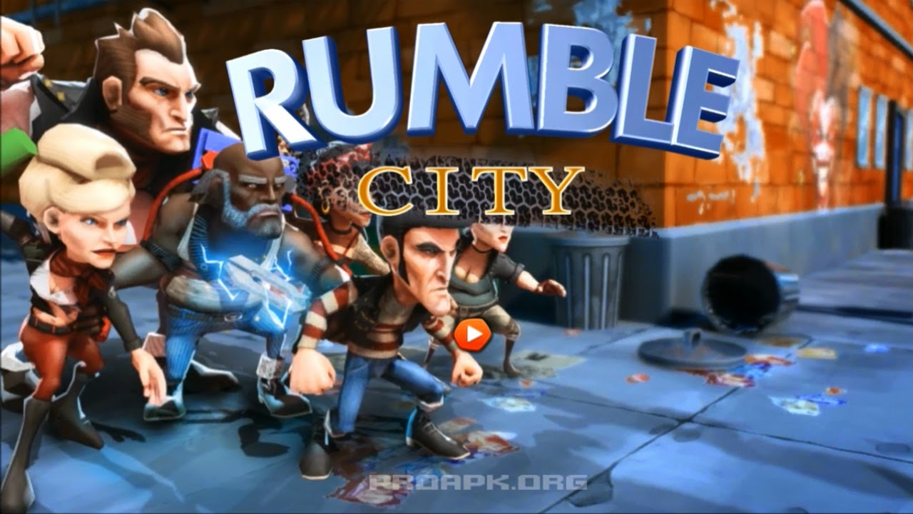 Rumble City Gameplay IOS / Android