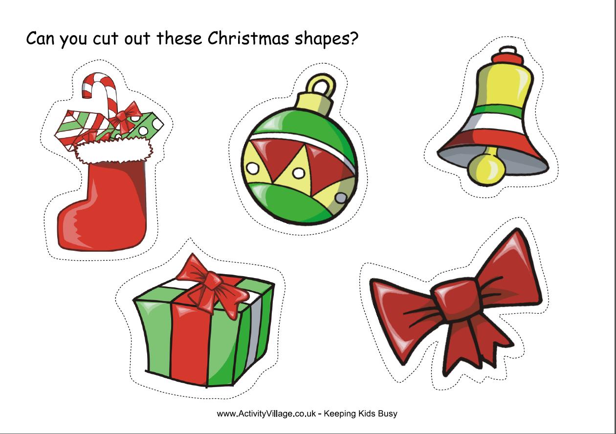 Juegos sencillos educacion especial noviembre 2013 - Dibujos en color de navidad ...