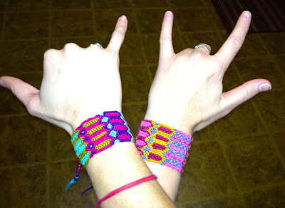 funky+friendship+bracelets - The Best BFF Bracelets