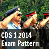 CDS 1 2014 Exam Pattern