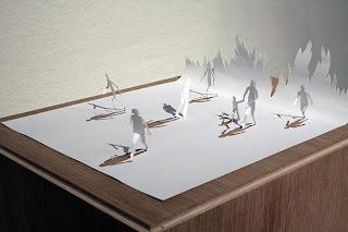 Seni Papercut yang Luar Biasa