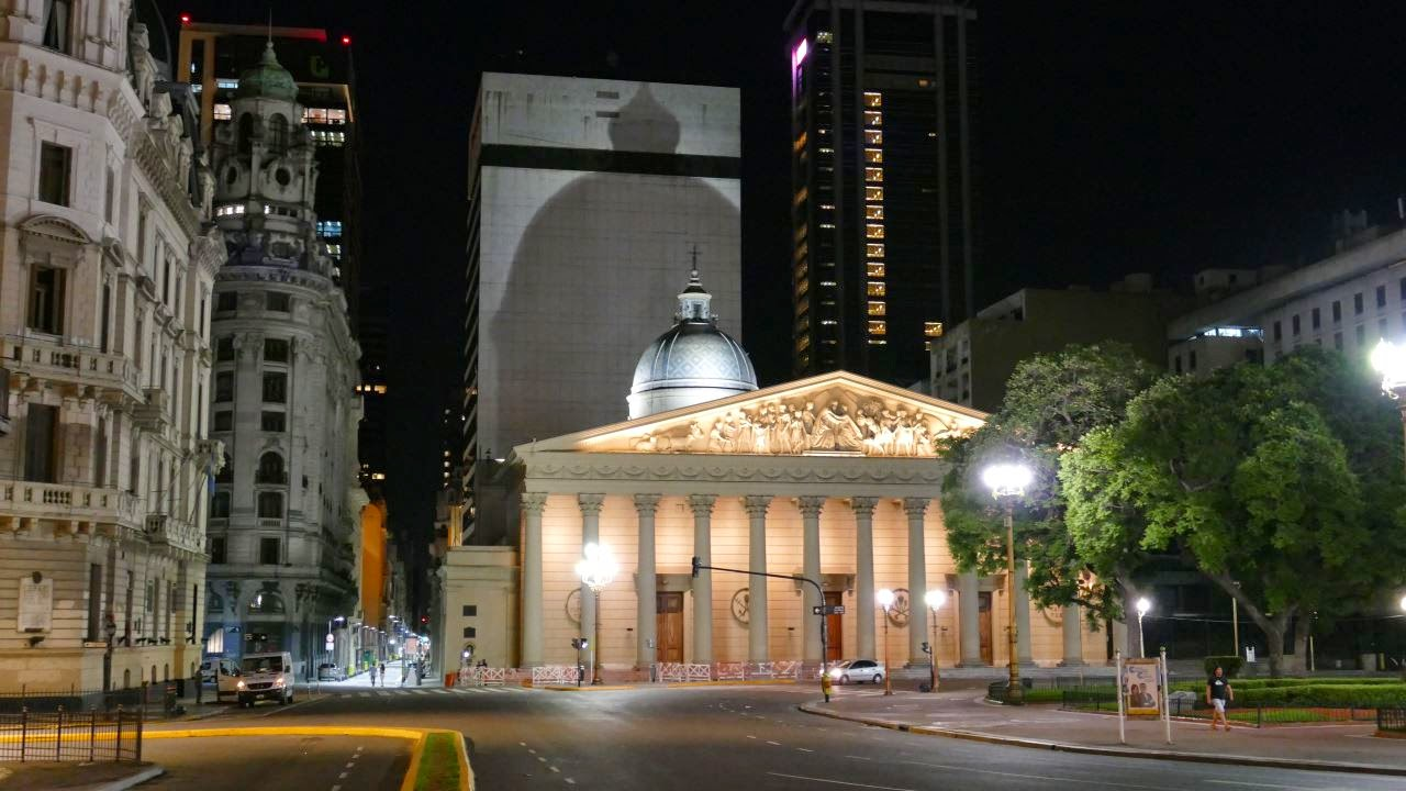 Nachtfotografie - Buenos Aires at night