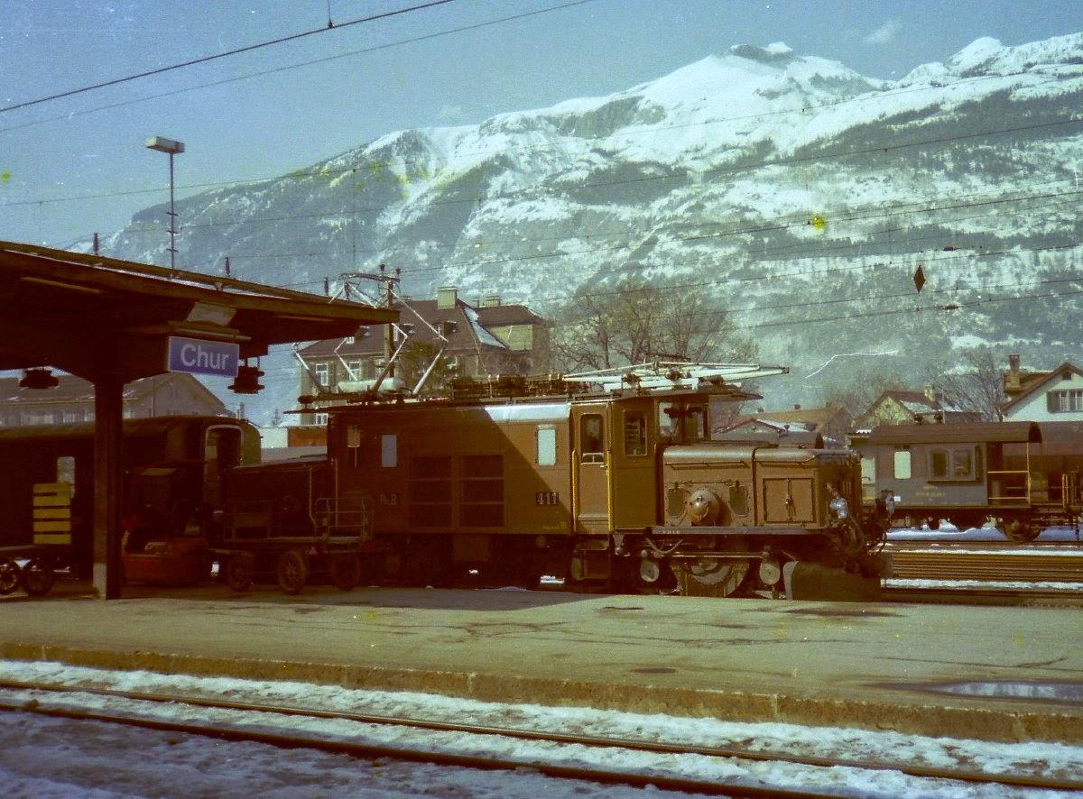 スイス国鉄De6/6形電気機関車