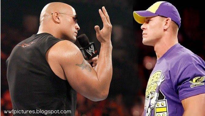 Wwe Wallpapers Wwe Superstars Wwe Wrestlemania The Rock Vs John