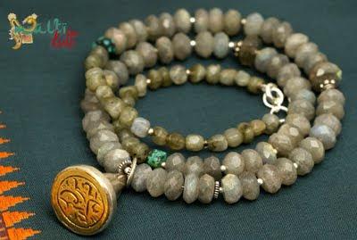 labradoryt - biżuteria