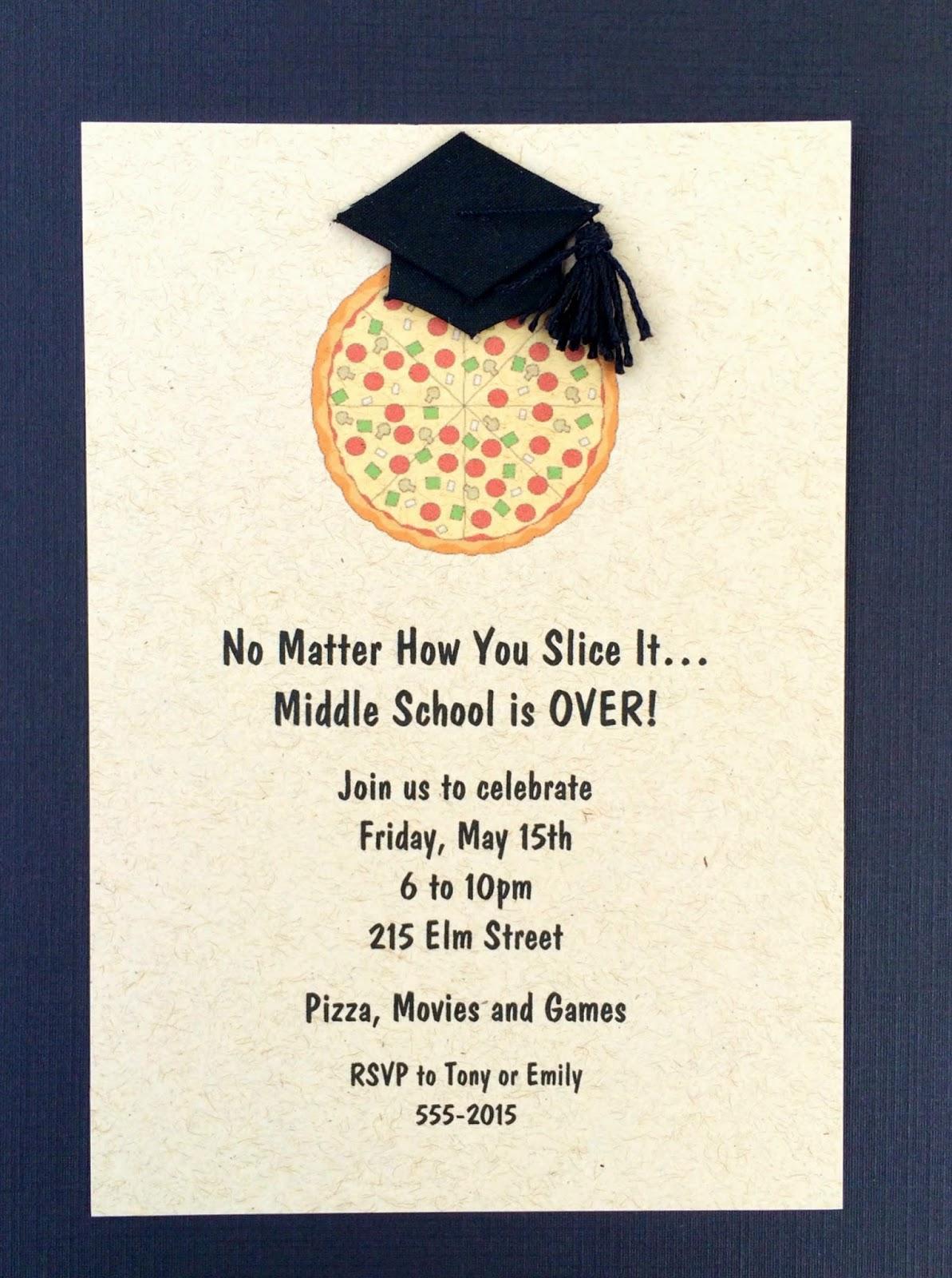 Jac o\' lyn Murphy: Graduation Pizza Party