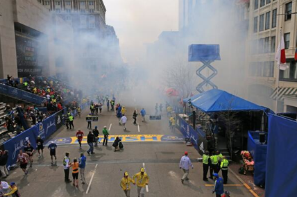 Explosion at Boston Marathon Finish Line
