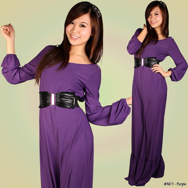 Lycra Maxi Dress