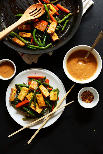 Tofu And Vegetable Stir Fry post holidays meals recipes