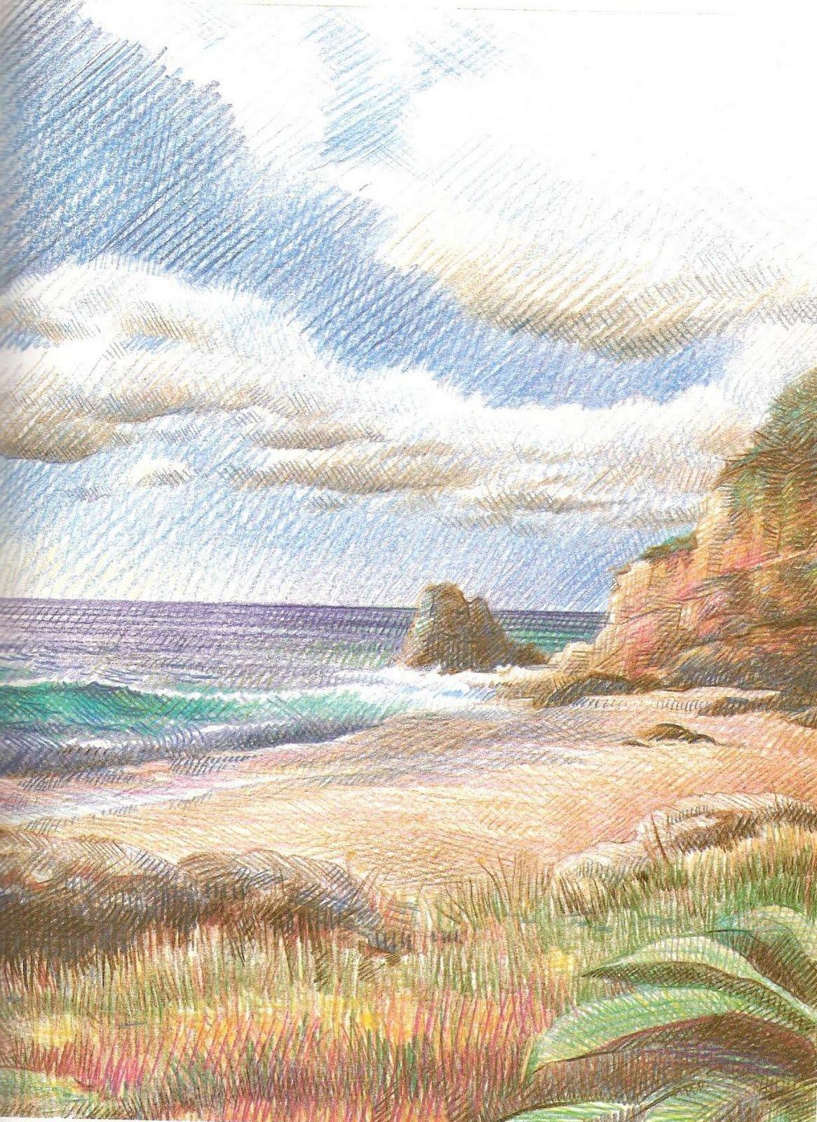Como pintar con lapices de colores   INTRODUCCIÓN AL DISEÑO/ DISEÑO ...