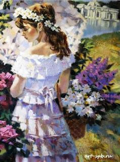 retratos-de-mujeres-con-vestidos-pintadas
