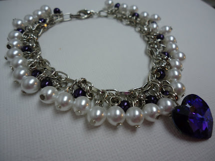 The Purple Pearl Bracelet